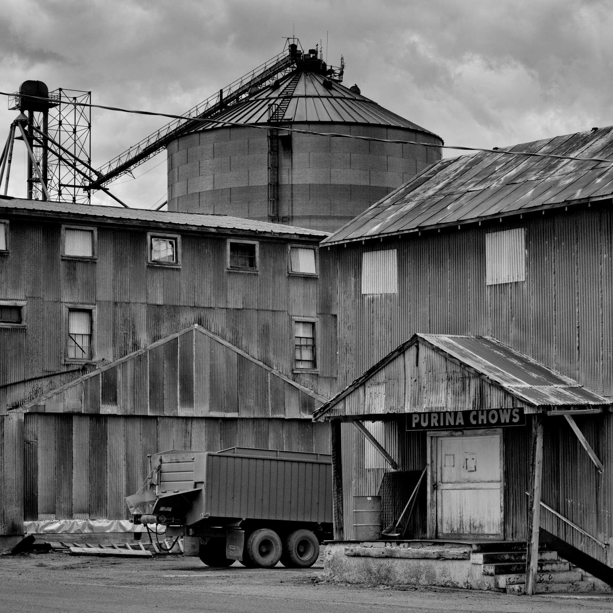 For generations, farming families and farm workers harvested crops that fed men and beasts all across America. But as the agriculture industry has dwindled, Americans have become more reliant on imported goods. This old grain silo in Ashton, Idaho belies how much has changed. Ashton is a town in Fremont County witha population of 1,127 and 21.8% live below the poverty level.