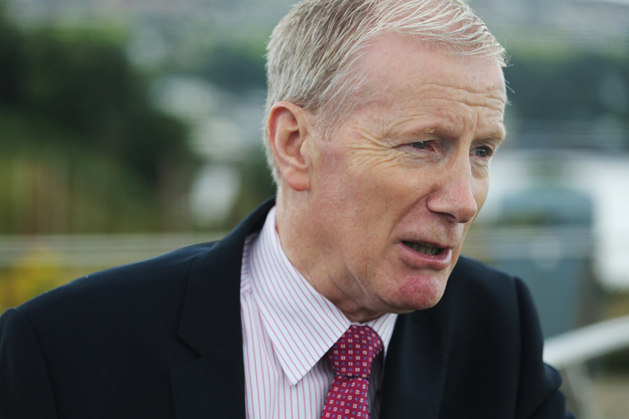 "Gregory Campbell, a lawmaker with the right-wing Democratic Unionist Party, accuses critics of using Brexit as a ""fear tactic,"" adding: ""There is no threat to the peace."""
