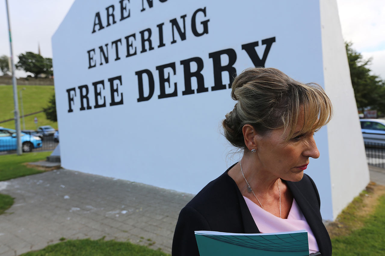 "Martina Anderson, who represents Northern Ireland in the European Parliament, warns that a post-Brexit hard border would ""undermine all that has been achieved in our peace process during the last 20 years."""