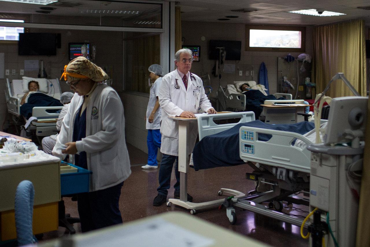 Dr. Jorge Valeri, a cardiologist at the Centro Médico.