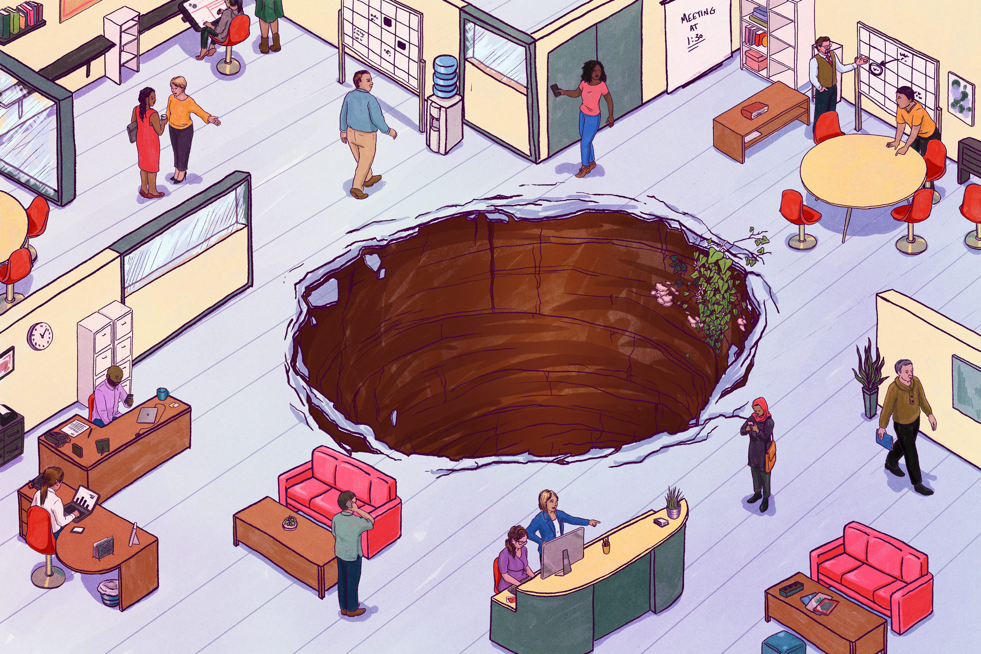 Sinkhole Office