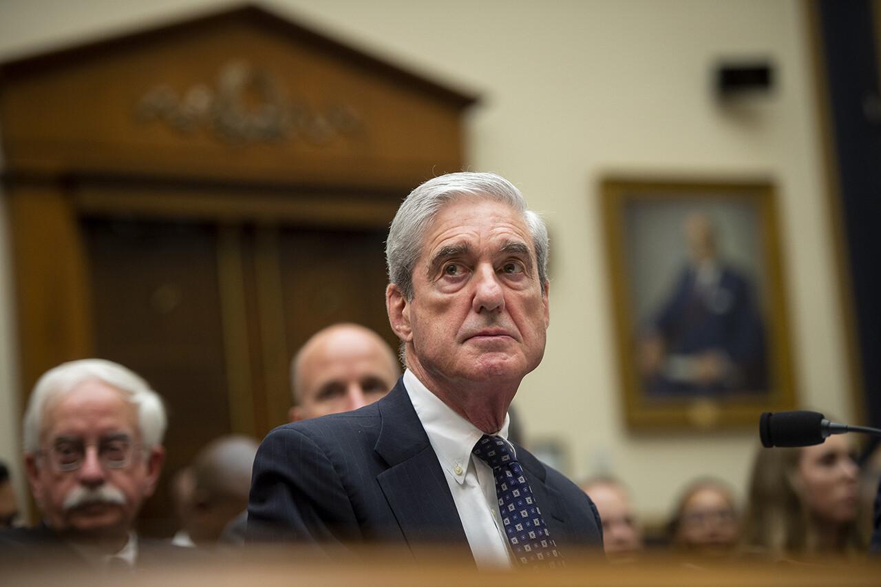 Robert Mueller testifies before the House Judiciary Committee.