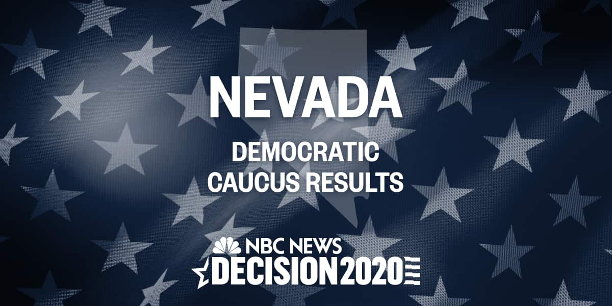 Nevada Primary Caucus Results 2020 Live Election Map