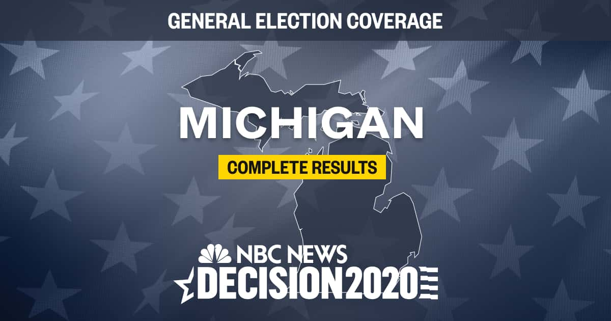 michigan election results 2020 live results by county michigan election results 2020 live